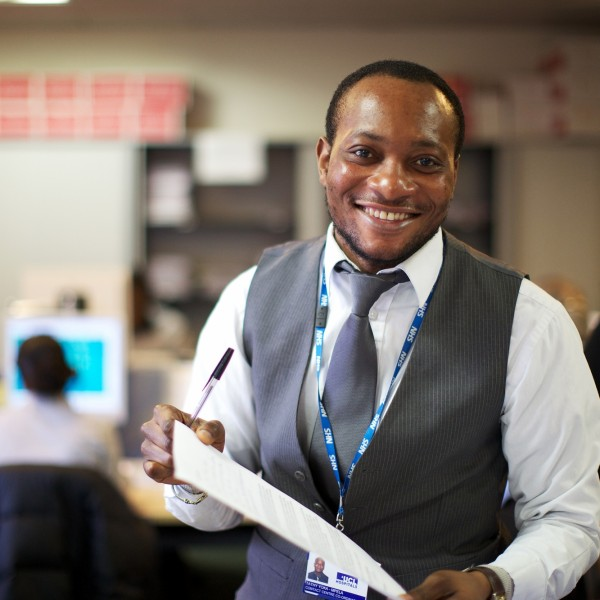 NHS Staff member in call centre