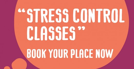 Stress control classes booking