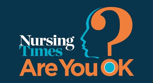 Nursing Times: Are you Ok? logo